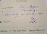 Немецкая расчётная книга Kontogegenbuch, фото №5
