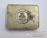 Немецкая жестяная коробка из под сигарет Guldenring 10 cig/Аналог из каталога по Вермахту
