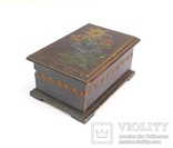 Старая Австрийская шкатулка с Эдельвейсом., фото №4