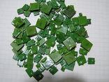 Конденсаторы КМ,зелёные. 50,49 грамм.