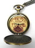 Гарри Поттер карта мародёров Marauder's Map карманные часы