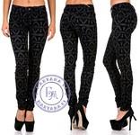Велюровые джинсы Ромб - 27 размер