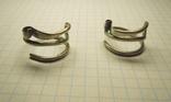 Два серебряных височных кольца photo 2