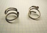 Два серебряных височных кольца photo 3