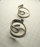 Два серебряных височных кольца photo 4