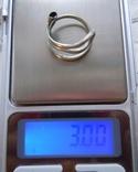 Два серебряных височных кольца photo 6