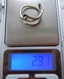 Два серебряных височных кольца photo 7