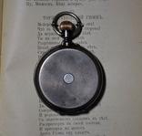 R.Schmid,карманные часы в серебре фото 5