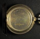 R.Schmid,карманные часы в серебре фото 6
