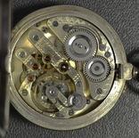 R.Schmid,карманные часы в серебре фото 9