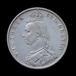 1/2 Кроны 1887, Великобритания photo 1