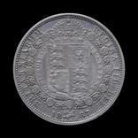 1/2 Кроны 1887, Великобритания photo 2