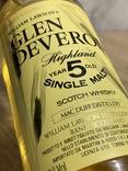 Whisky Glen Deveron 5 1980s photo 5