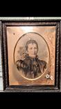Жінка портрет олівець 1900 р.