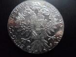 Таллер 1780 Австрия Мария Терезия серебро 28,1гр. (4.3.9)~