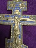 Крест с эмалью photo 2