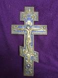 Крест с эмалью photo 5