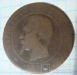 10 сантимов 1855 г, фото №2