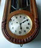 Настенные часы с боем фирмы Hamburg-Amerikanische Uhrenfabrik(HAU) photo 4