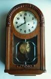 Настенные часы с боем фирмы Hamburg-Amerikanische Uhrenfabrik(HAU) photo 6