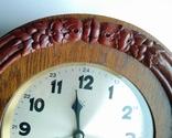 Настенные часы с боем фирмы Hamburg-Amerikanische Uhrenfabrik(HAU) photo 7