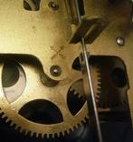 Настенные часы с боем фирмы Hamburg-Amerikanische Uhrenfabrik(HAU) photo 12