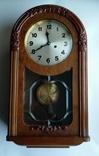 Настенные часы с боем фирмы Hamburg-Amerikanische Uhrenfabrik(HAU) photo 1