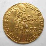 Дукат 1752 г. Голландия