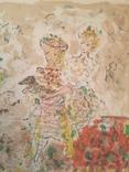 Терешкович Константин ,цветная литография 1949г. photo 4
