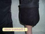Зимние штаны на флисе очень тёплые размер S (42), фото №5