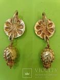 Античные золотые серьги. Вес 9,1гр. photo 3