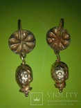 Античные золотые серьги. Вес 9,1гр. photo 4