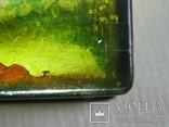 Шкатулка лаковая миниатюра Федоскино. Автор Теслицкая Н. 70-е годы photo 2