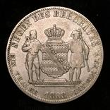 Саксония 1 талер 1868 год, фото №3