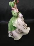 Royal Worcester Дама в Цветах photo 3