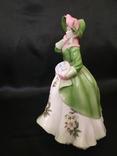 Royal Worcester Дама в Цветах photo 4