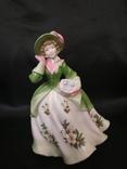 Royal Worcester Дама в Цветах photo 6