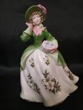 Royal Worcester Дама в Цветах photo 1