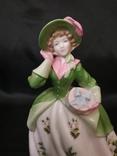 Royal Worcester Дама в Цветах photo 12