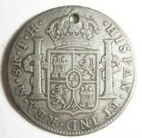 ИСПАНИЯ для Мексики. 8 реалов. Карлос IV photo 2