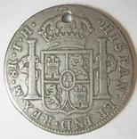 ИСПАНИЯ для Мексики. 8 реалов. Карлос IV photo 5