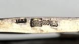 Спас в сер. окладе 84 пр. с накладками с выевмчатами эмалью (под реставрацию) photo 8