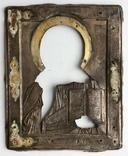 Спас в сер. окладе 84 пр. с накладками с выевмчатами эмалью (под реставрацию) photo 10