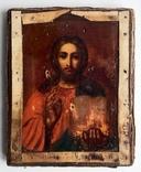 Спас в сер. окладе 84 пр. с накладками с выевмчатами эмалью (под реставрацию) photo 12