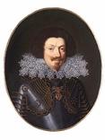 Экю (30 соль) 1613 Герцогства Невер и Ретель совр. Франция RRR photo 10