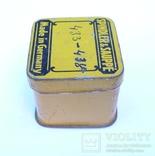 Немецкая жестяная коробочка Spindler & Sauppe, фото №5