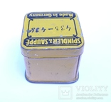 Немецкая жестяная коробочка Spindler & Sauppe, фото №6