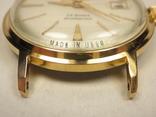 "Часы ""Poljot de luxe "" позолота АУ20. photo 5"