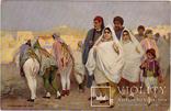 Тунис прогулка еврейкой семьи, Иудаика Евреи до 1917 г. оригинал, фото №2