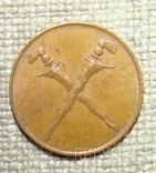 1 цент 1962 Малайя блеск, фото №3